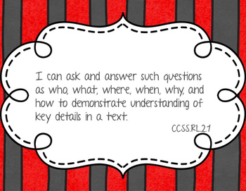 2nd Grade ELA and Mathematics I Can Statements (CCSS)