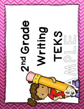 2nd Grade ELAR TEKS I Can Standards (New TEKS)