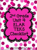 2nd Grade ELAR Unit 4 TEKS Checklist
