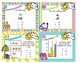 2nd Grade EOY Math Spiral Review Task Cards