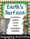 Second Grade NGSS with STEM - Earth's Surface