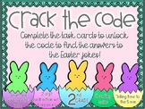 2nd Grade Easter Crack the Code Math Centers Task Cards