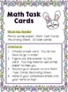 2nd Gr. Easter Math {CC Aligned- All 4 domains!} Task Cards