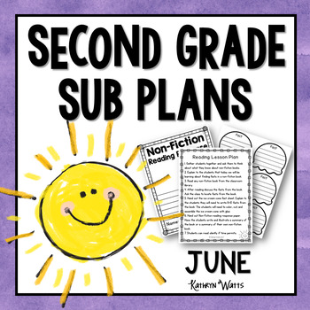 2nd Grade Emergency Sub Plans June