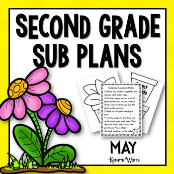 2nd Grade Sub Plans May