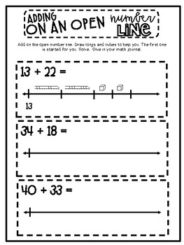 2nd Grade EnVision Math Journal | Topic 3