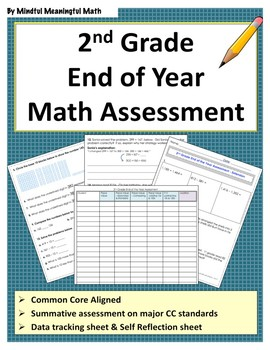 2nd G End of Year Math Assessment