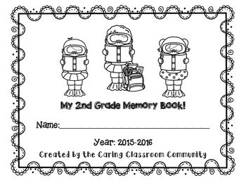 2nd Grade End of Year Memory Book