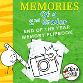 2nd Grade End of Year Memory Book Activities / Flipbook