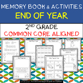 2nd Grade End of Year Memory Book and Activities - Distanc