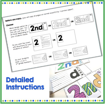 2nd Grade End of Year Memory Flip Book