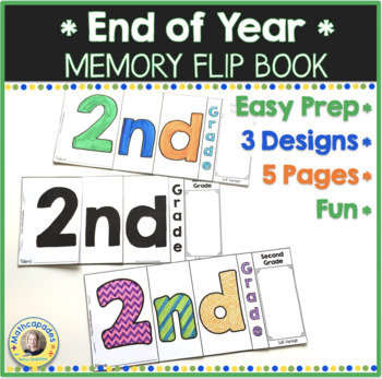 End of Year Memory Flip Book - 2nd Grade