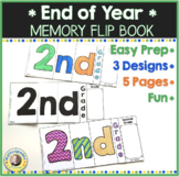 End of Year Memory Flip Book Activity 2nd Grade