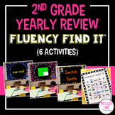 End of Year 2nd Grade Review Fluency Find It