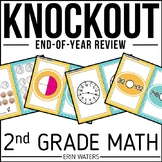 2nd Grade Math Review End of Year Game and 3rd Grade Back to School Game