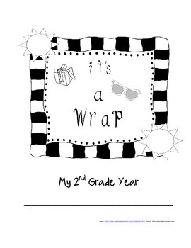 2nd Grade End of Year Writing Project - It's a Wrap!