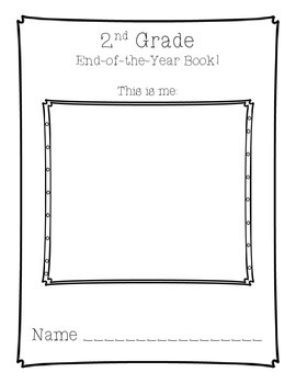 2nd Grade End of the Year Book