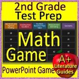 2nd Grade Test Prep Activities  - Math Game