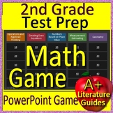 2nd Grade Test Prep Math Game for PowerPoint - Jeopardy Style