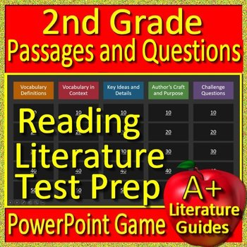 2nd Grade Reading Comprehension Passages and Questions Narrative Review Game