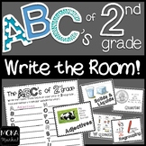 2nd Grade End of the Year Review - Write the Room