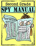 End of the Year Memory Book: 2nd Grade Spy Manual Theme