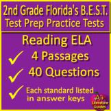 2nd Grade Engage NY ELA Test Prep Reading Practice - Print & SELF-GRADING GOOGLE