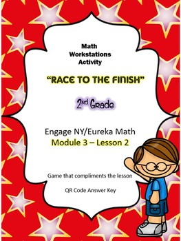 2nd Grade Engage NY/Eureka Math Module 3 Lesson 2 GAME
