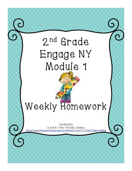 2nd Grade Engage NY Homework Module 1