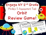 2nd Grade Engage NY Math End of Module 5 Assessment Review Scoot Orbit Game