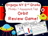 2nd Grade Engage NY Math End of Module 7 Review Orbit Scoot Game