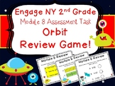 2nd Grade Engage NY Math End of Module 8 Assessment Review Game Scoot Orbit