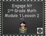 2nd Grade Engage NY Math Module 1 Lesson 2 Smartboard Lesson