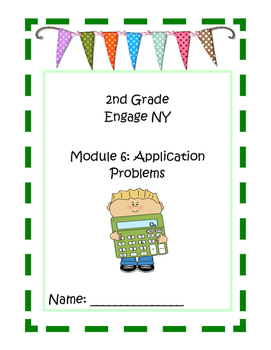 2nd Grade Engage NY Math Module 6 Application Problem