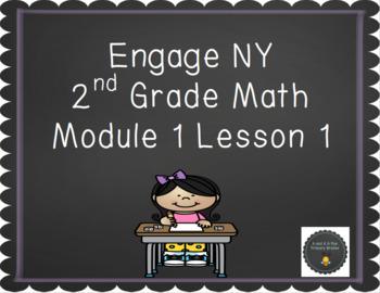 2nd Grade Engage NY Math Smartboard Lesson *Freebie*