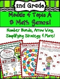 2nd Grade Engage NY Module 4 Topic A Math Center Games Arr