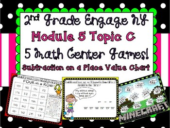 2nd Grade Engage NY Module 5 Topic C Games Subtraction Place Value Chart