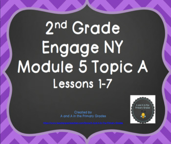 2nd Grade Engage NY SMARTBoard Lessons Module 5 Topic A