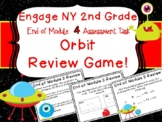 2nd Grade Engage New York End of Module 4 Assessment Orbit Review Game Scoot