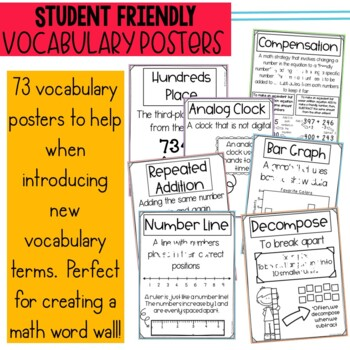 2nd Grade Engage New York Parent Letters & Games & Vocabulary Poster BUNDLE