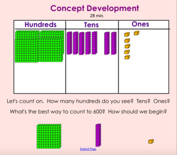 2nd Grade EngageNY Math Module 3 Interactive Lessons Bundle *Lessons 1-21*