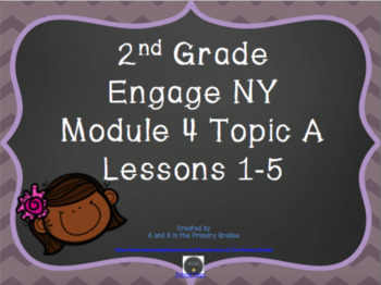 2nd Grade EngageNY Math Module 4 Topic A