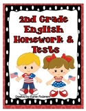 2nd Grade English Homework & Tests for Scott Foresman's Reading Street- 28 Weeks