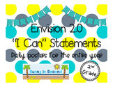 """2nd Grade - Envision 2.0 """"I Can"""" Statements for the Entire Year"""