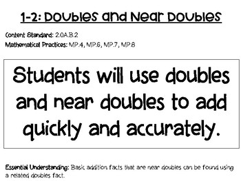 2nd Grade Envision 2.0 Math Objectives