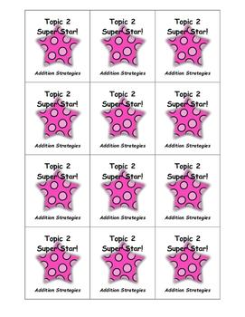 2nd Grade Envision Brag Tags