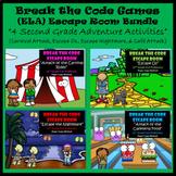 2nd Grade Digital Escape Room-Distance Learning-Google Forms-Reading Bundle