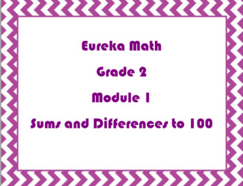 2nd Grade Eureka Math/Engage NY Module 1