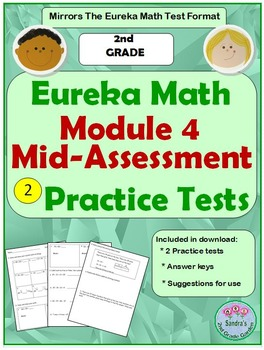2nd Grade Eureka Math Module 4 Mid-Assessment Practice Tests