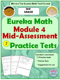 2nd Grade Eureka Math Module 4 Mid-Assessment Practice Tests